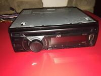 JVC KD-R441 CD/AUX/USB FACE OFF