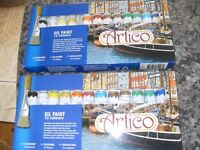 3 BOXES OF OIL TUBES 48 PLUS 14 ACRYLIC ALL BRAND NEW 62 TUBES IN TOTAL !