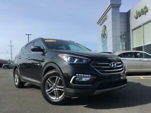 2018 Hyundai Santa Fe Sport AWD 4CYL, LEATHER INTERIOR, MOONROOF