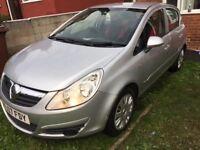 Vauxhall corsa 1.2 petrol 5 doors, silver
