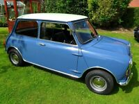 MK1 or MK2 1960's Mini wanted for restoration project Austin, Rover.