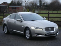 2013 JAGUAR XF 2.2d SE BUSINESS NAV AUTOMATIC **FULL SERVICE HISTORY**