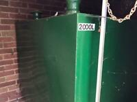 Metal heating oil tank 2000l