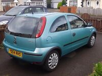 Lovely corsa with low miles.