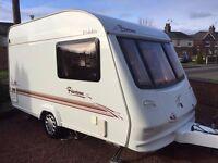 Elddis 2 berth caravan 362 2003