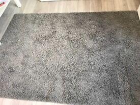 Ikea Grey rug for sale