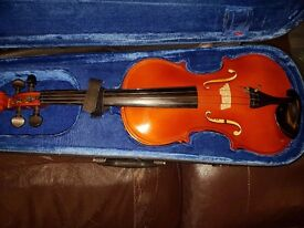 Shimro 3/4 violin for sale (may need servicing)