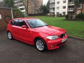 BMW 120d , manual , FSH, long MOT