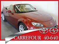 2010 Mazda MX-5 GS 6 Vitesses Cuir Impeccable !!!