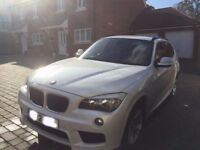 BMW X1 XDRIVE 2.0 18d M Sport 5dr in white
