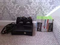 Xbox 360 model 1439 and games
