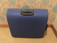 Medium Blue Suitcase