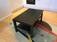 Ikea coffee table, Black