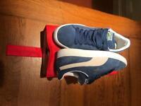 Puma suede classic - Ensign Blue/white - UK 6