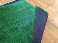 Artificial grass off cuts