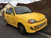 2000 FIAT SEICENTO 1.1 SPORTING - 70,000 MILES - 8 MONTHS MOT