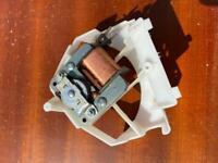 Microwave fan and fan motor