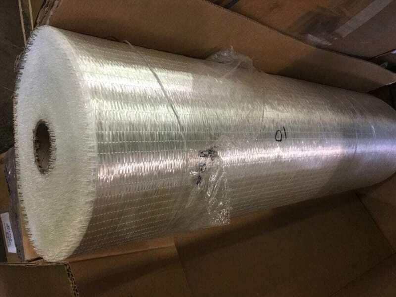 "FGI 50"" Roll Fiberglass W1300-050 Warp Unidirectional Mat/Cloth 190 Yards"