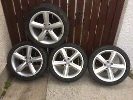 Audi A4 S-line Alloy Wheels & Tyres