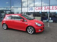 2012 62 VAUXHALL CORSA 1.6 VXR 3D 189 BHP **** GUARANTEED FINANCE **** PART EX WELCOME