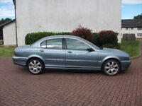jaguar x type v6 se auto 4wd 2496cc 2005 mot 1 year £1050