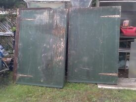 shed doors 6ft by 4ft