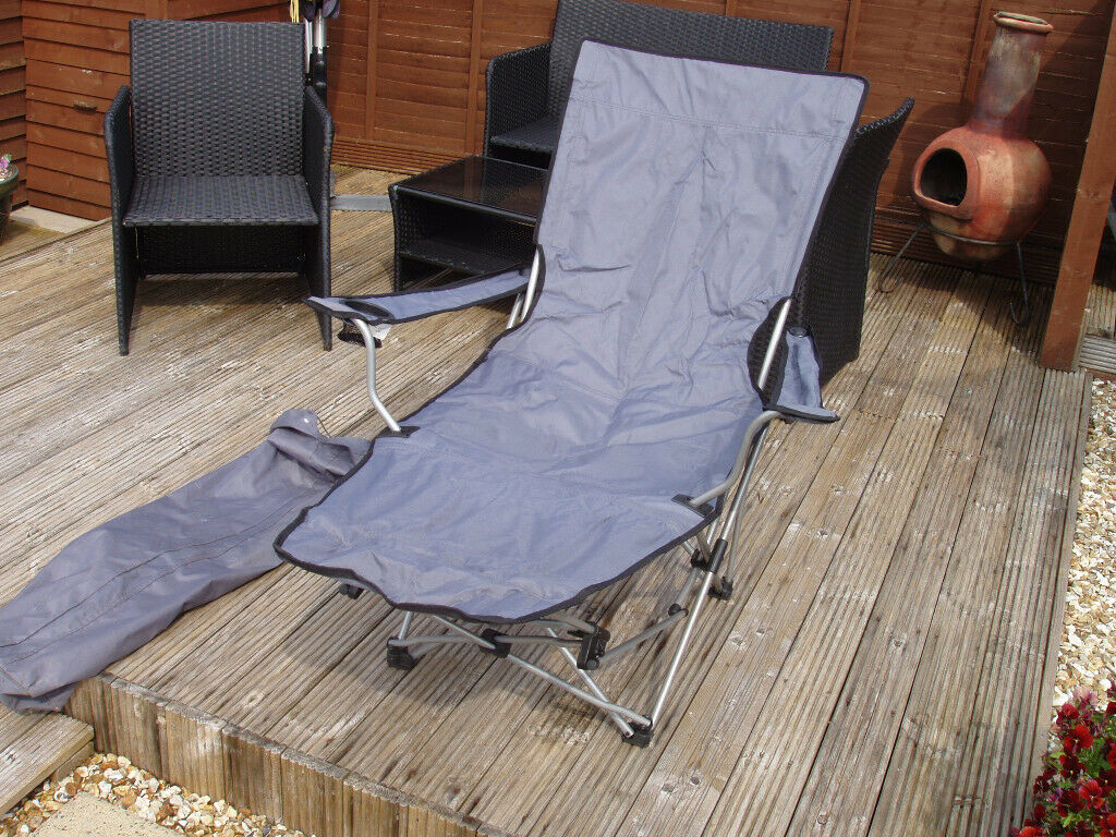 Superb Folding Reclining Camping Chair In Hanham Bristol Gumtree Creativecarmelina Interior Chair Design Creativecarmelinacom