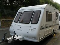 Compass Omega Two Berth Touring Caravan