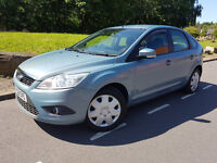 Ford Focus Style 1.6 Petrol Blue 5 Door 2008 08 Plate