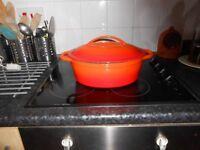Large Cast Iron Roasting pot