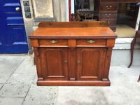 Sideboard , in good condition . Has 2 drawers and cupboard space below. Great size as not to big.