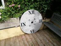 Garden clock for decoration