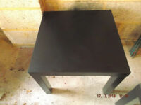 Two Black Side Tables £5 for Both