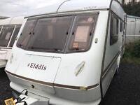 1996 lightweight elddis vogue 4 berth end wc swift abi caravan OVER 100 in stock to clear