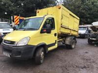 Iveco daily tipper 6.5 ton spares or repairs 2010 60