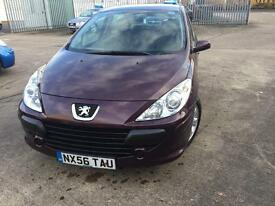 Peugoet 307 1.4 petrol come with full mot low Milge 51000