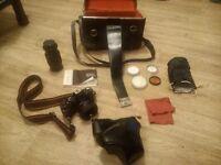 Cosina CT1G Camera & extras