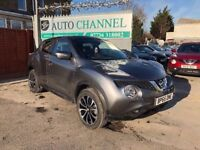 Nissan Juke 1.5 dCi Tekna 5dr (start/stop)£8,475 p/x welcome 1 YEAR FREE WARRANTY. NEW MOT