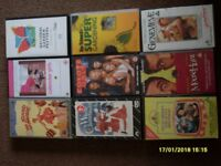 Pre-recorded VHS video tapes