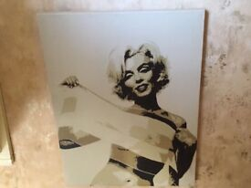 Marilyn Monroe Canvas Picture