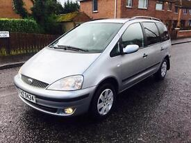 2004 FORD GALAXY ZETEC 7-SEATER TDI 1.9L 6-SPEED FULL YEAR MOT F\S\H T-BAR TRADE IN WELCOME