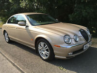 Jaguar S Type Touchscreen Sat Nav Leather 2 OWNERS