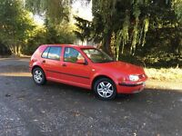 2003 Volkswagen Golf match 5 door 1.6 petrol cheap clean car