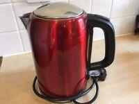 Sainsburys red kettle