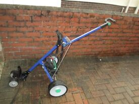 Hill Billy Golf Trolley in Good Condition