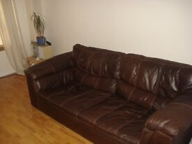£50 - DFS LEON SOFA - Large and well loved