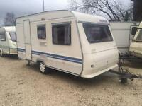 4 BERTH 2003 ADRIA WITH AWNIBG END SIDE DINETTE AND BUNKBEDS WE CAN DELIVER PLZ VIEW