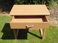 Computer Desk with integral drawer.