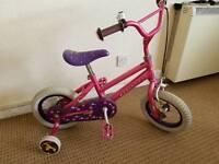 Girls bike pink