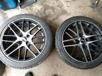 BBS CS4 4x100 wheels 17x7.5